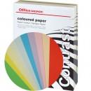Papper Office Depot 160g Sorterade Färger A4 250st/paket (Miljö)