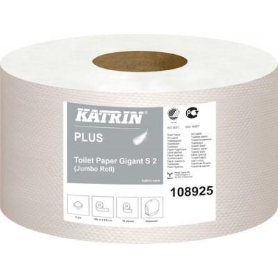 Katrin Toalettpapper Plus Gigant S2 12rullar/kart(Miljö)