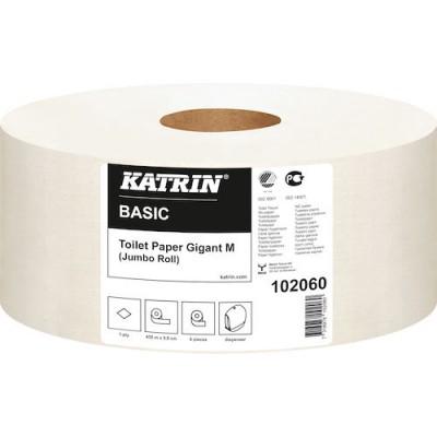 Katrin Toalettpapper Basic Gigant M 6rullar/kart(Miljö)