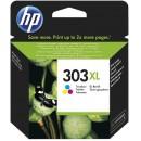 Bläckpatron HP No303 XL CMY 3-färg