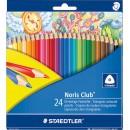 Färgpenna Staedtler Noris Club 24 färger/fpk