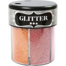 Glittermix Pastell 13g 6 färger