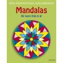 Målarbok Mandala från 6år