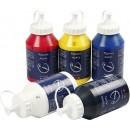 Akrylfärg Pigment Mix 500ml 5st/fpk