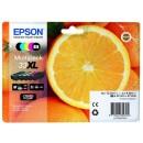Bläckpatron Epson 33XL CMYB/PB 5st/fpk