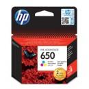 Bläckpatron HP Nr650 3-Färg