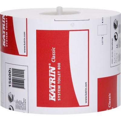 Katrin Toalettpapper Classic System 800 36rullar/kart (Miljö)