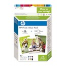 Bläckpatron HP363+Q7966EE S-Kit