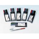 Märkpenna Faber Castell Super Fine Permanent 4/Set