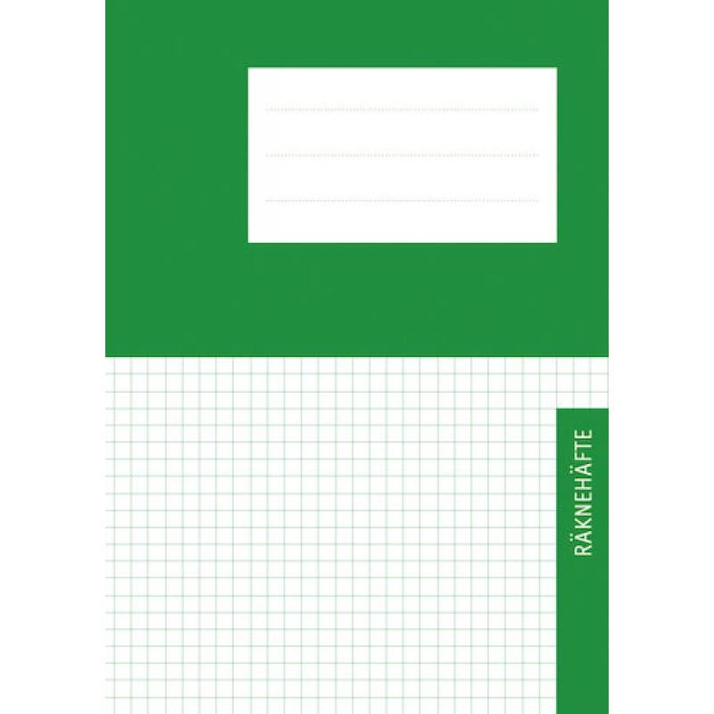 Räknehäfte Niceday A5 Rutat 5x5mm Grön 25st fpk (Miljö) hos ... e4ffe74592555
