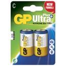 Batteri GP Ultra Plus C/LR14 2st/fpk (Miljö)