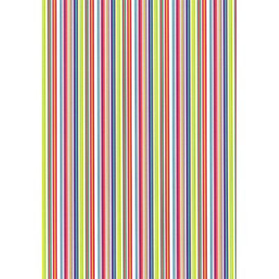 Presentpapper Multistripes 57cmx154m
