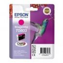 Bläckpatron Epson T0803 Magenta