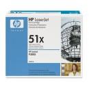 Toner HP 51X Q7551X Svart