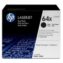 Toner HP 64X CC364XD Svart 2st/fpk