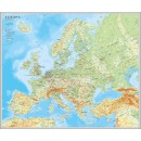 Europakarta 1:5,5 Miljoner 98x82cm