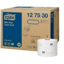 Tork Mid-Size Toalettpapper Advanced 27rullar/kart (Miljö)
