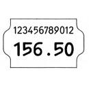 Prismärkningsetikett G2 Vit 19x32mm 5rullar/fpk