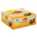 Te Lipton Black Currant med Kuvert 100st/fpk (Miljö)
