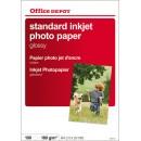 Fotopapper Office Depot Glossy A4 100st/fp