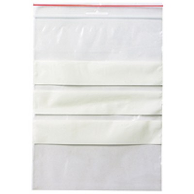 Blixtlåspåse med Skrivfält 230x170mm 1000st/kartong (Miljö)