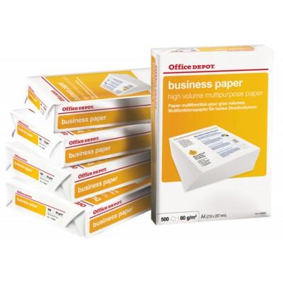 Papper Office Depot Business A4 80g (Miljö)