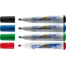 Whiteboardpenna Bic Velleda 2,5mm Rund 4-Set (Miljö)