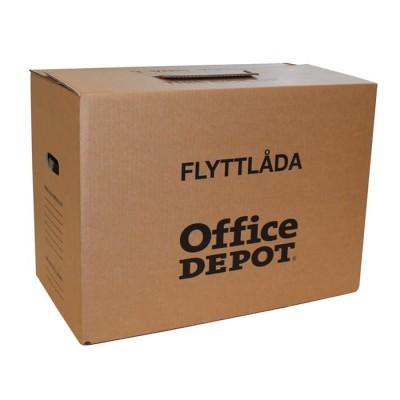 Flyttlåda Office Depot enkelwell 4mm 10st/fp