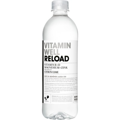 Dryck Vitamin Well Reload Citron & Lime