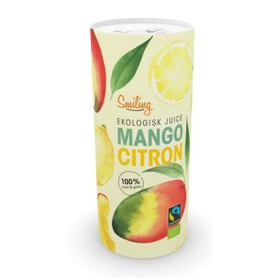 Ekologisk Juice Smiling Mango och Citron 12st/fpk