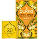 Te Pukka Lemon, Ginger & Manuka Honey Eko 20st/fp