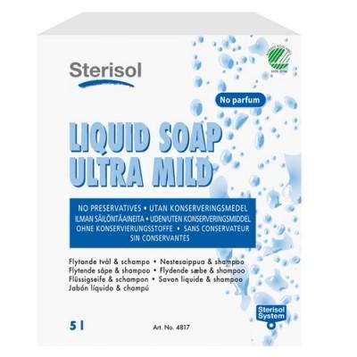 Sterisol Ultra Mild flytande Tvål och Schampo 5L (Miljö)