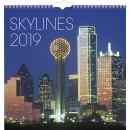 Väggkalender Skylines (Miljö)