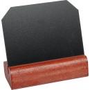Griffelskylt 8x6,5cm med Träfot