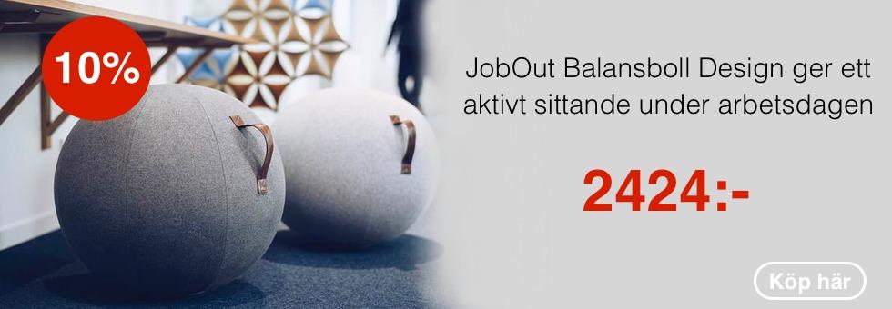 JobOut Balansboll Design 65cm