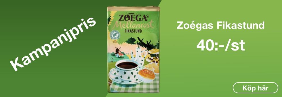 Kaffe Zoégas Fikastund