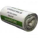 Soppåse Polynature vit 8L 25st/rulle